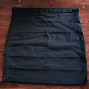 Mandee Black Mini Skirt